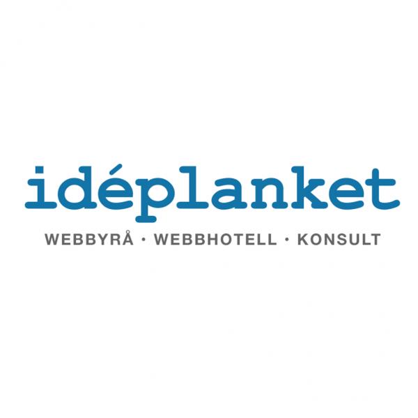 Idéplanket WordPress Webbyrå Webbhotell Konsult